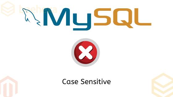 Mysql sever string case sensitive