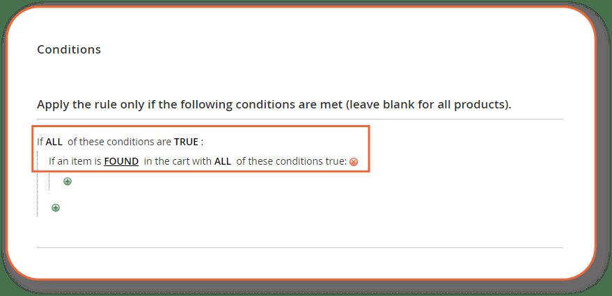 describe the conditions