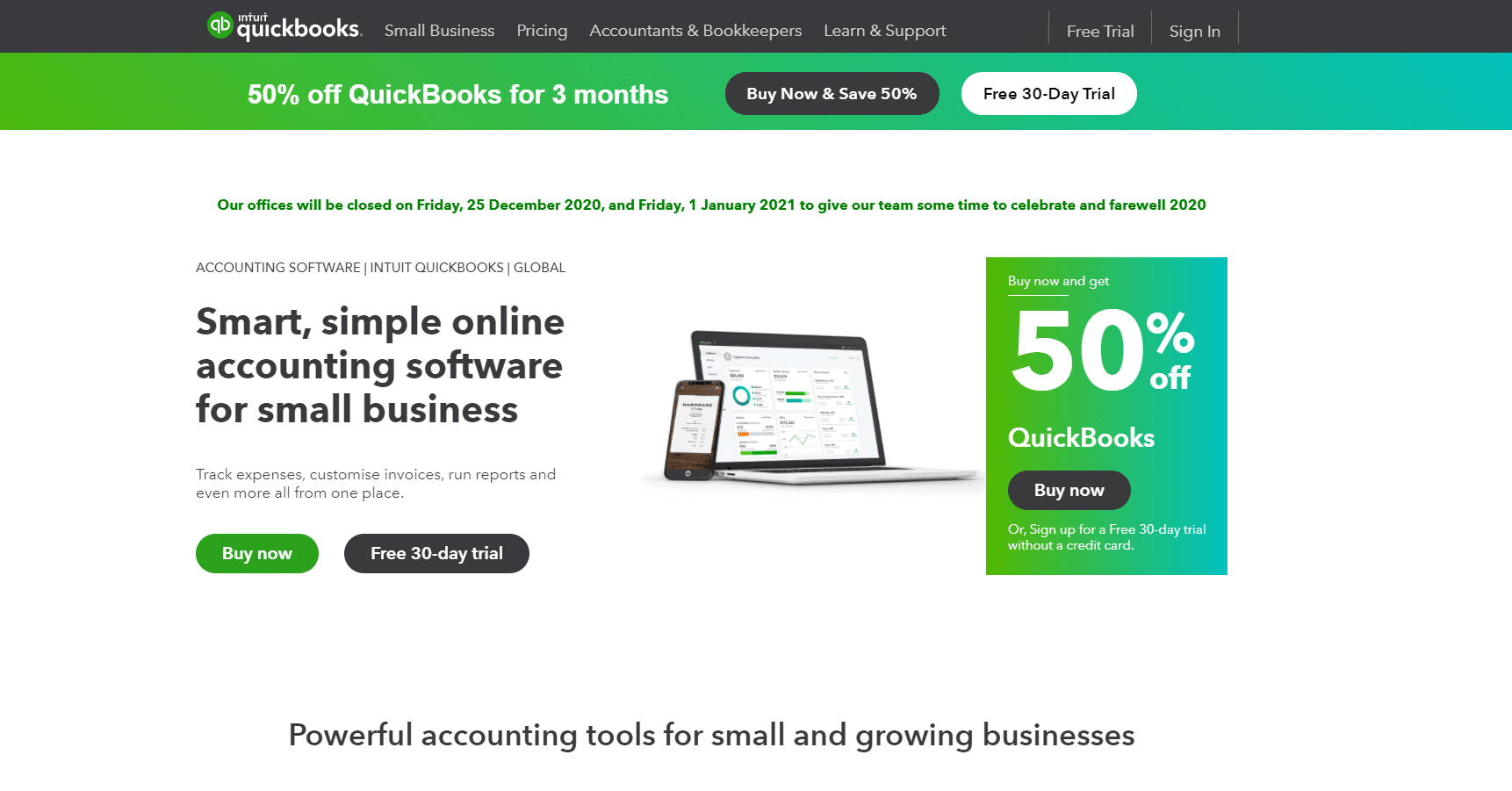 accounting software QuickBooks