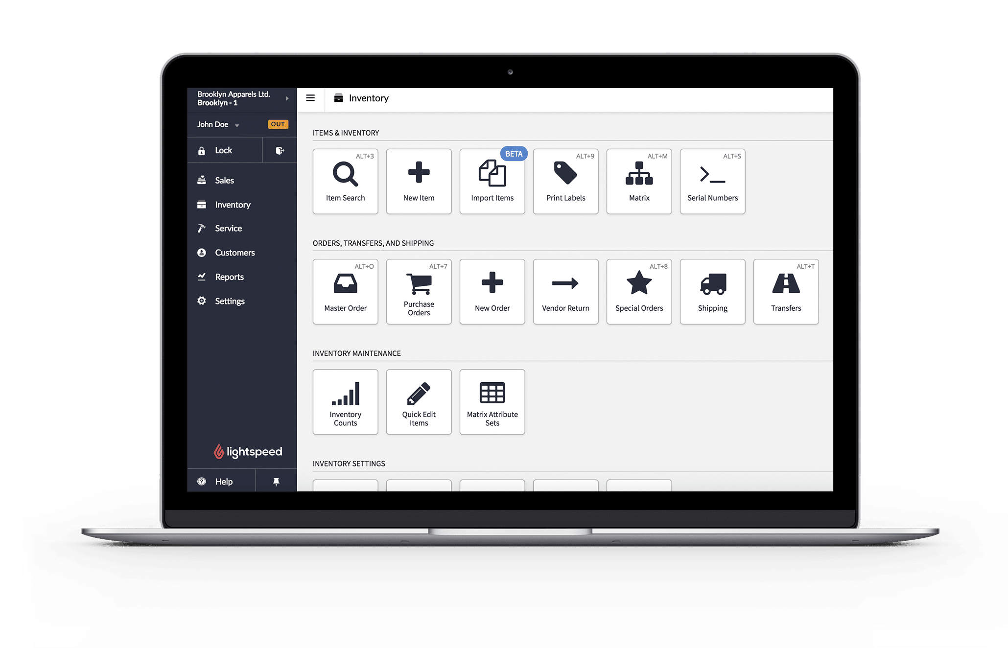 ligthspeed pos features