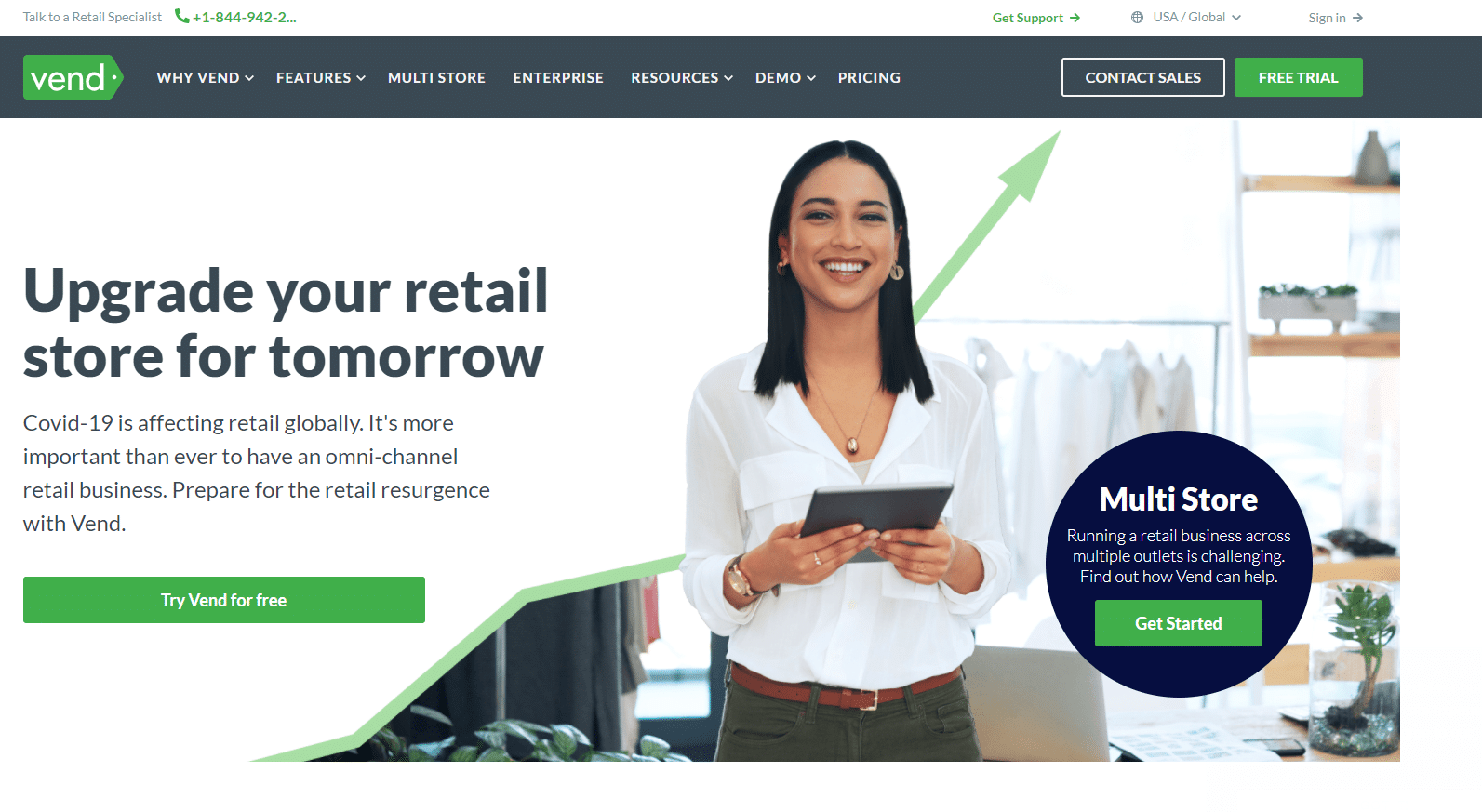 Vend as RMS replacing solution