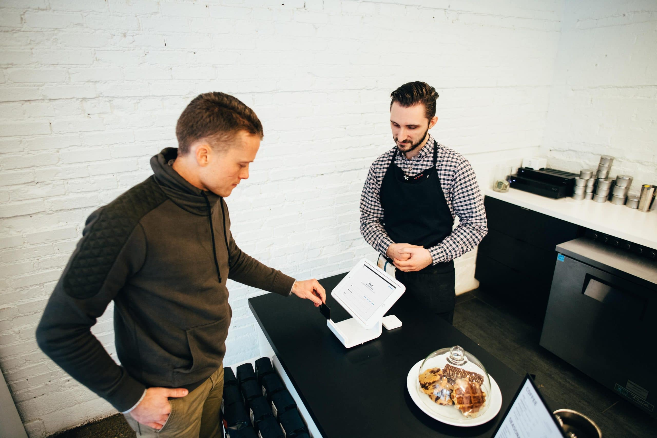 a point of sale system in business