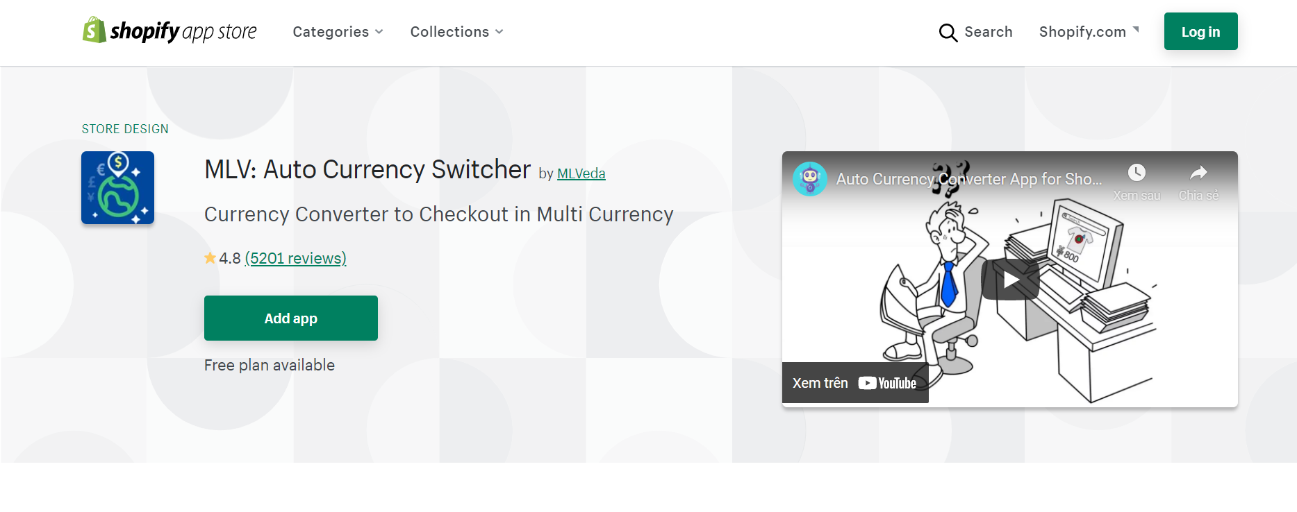 mlv auto currency switcher