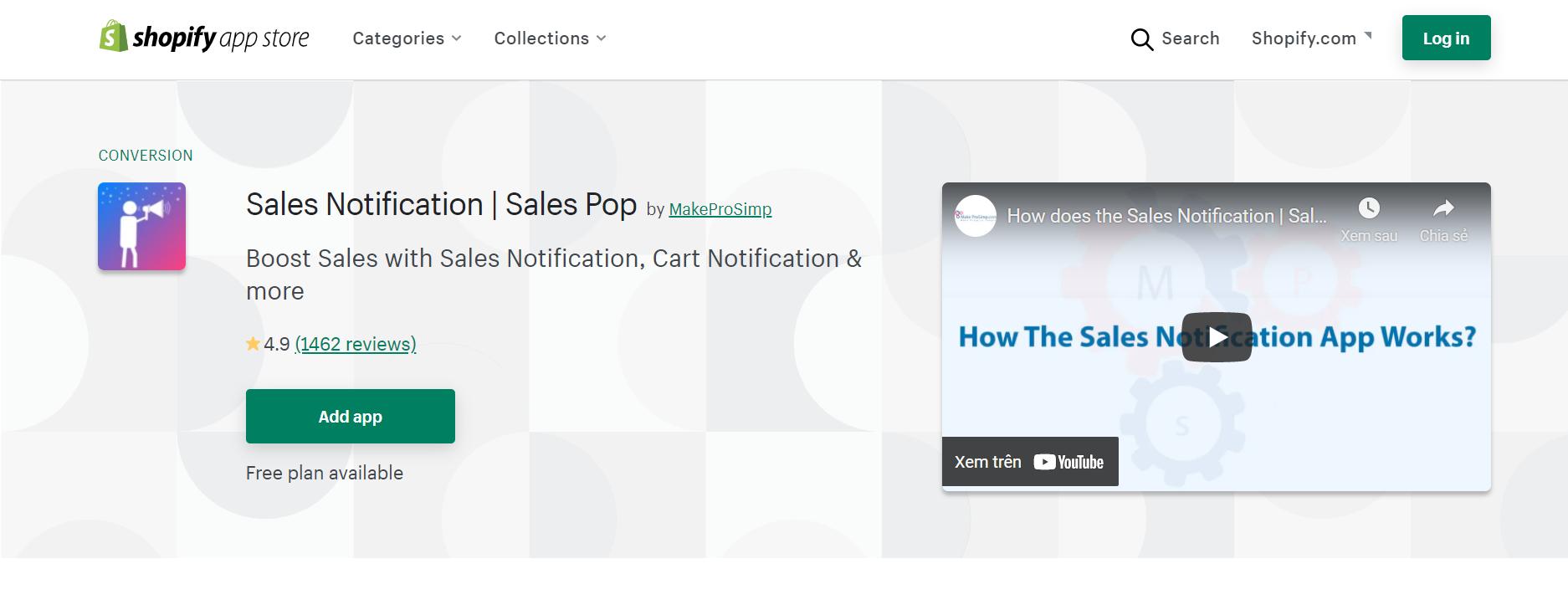 sales notification sales pop