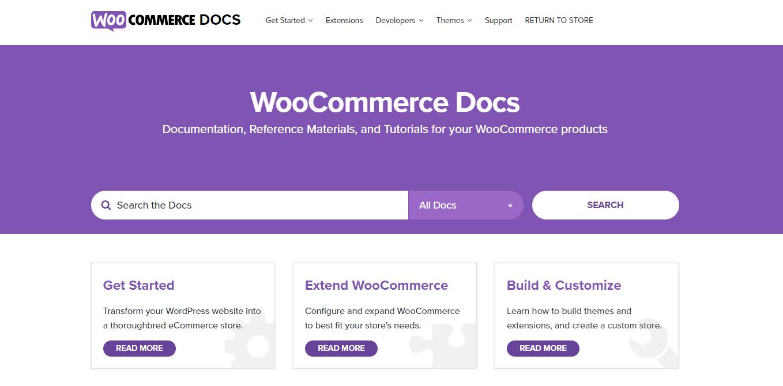 woocommerce documentation